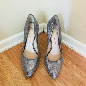 Nine West Love Fury Sequined High Heels